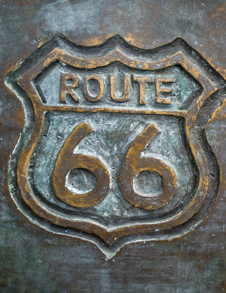 Route 66 Sign, Joliet Historical Museum, Joliet, Illinois