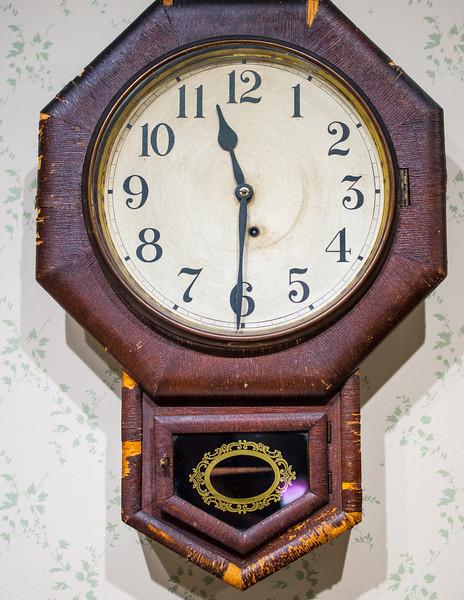 Antique Clock, Joliet Historical Museum, Joliet, Illinois