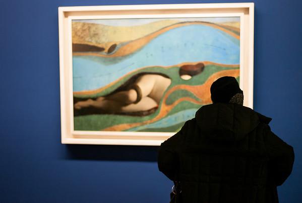 """Painting by Max Ernst, Title """"Der Garten Frankreichs"""" 1962"""