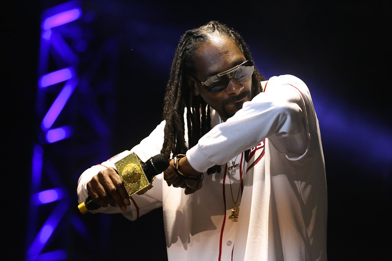 Headliner Snoop Dogg closed out the 2015 Bunbury Music Festival at the Yeatman's Cove Stage in Cincinnati on Sunday, June 7, 2015. Emily Maxwell | WCPO Bunbury Music Fest on June 7, 2015.