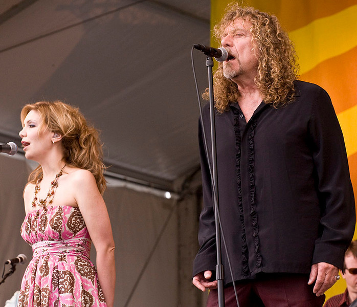 Alison Krauss and Robert Plant