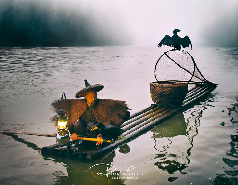 Fishermen at Li River