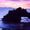 """""""Pastel Dusk""""<br /> Pura Bata Bolong is located near Tanah Lot, on the Indian Ocean, in Bali, Indonesia. A Hindu temple, it is named after the hole in the rock. This was taken after sunset, using a 6 second exposure."""