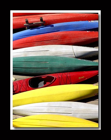 Kayaks, Georgetown (won Kodak Photo of the Day 11/2/04)