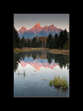 Sunrise at Schwabacher's Landing, Grand Teton National Park