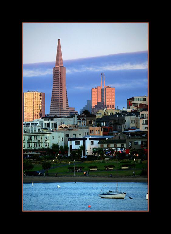 Evening Light, San Francisco
