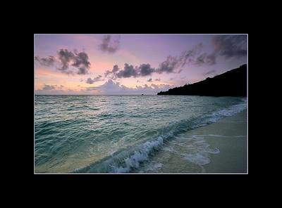 Sunset at PPR Beach, Palau