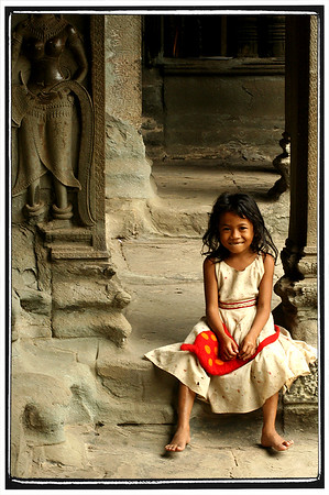 The Young and the Ancient, Angkor Wat, Cambodia