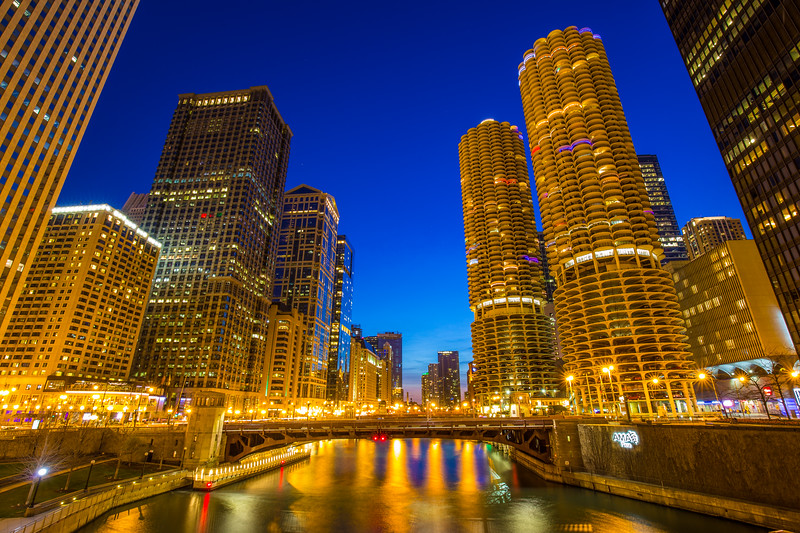 Chicago Blue Hour
