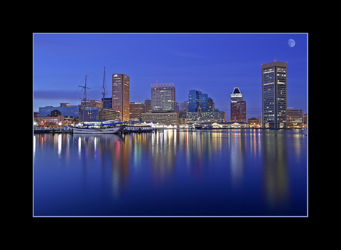 Baltimore's Inner Harbor, Maryland