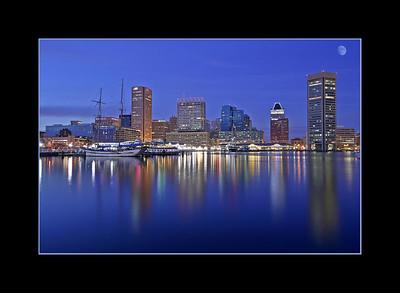 Baltimore's Inner Harbor, Maryland