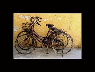 Old Bicycles, Hoi An, Vietnam
