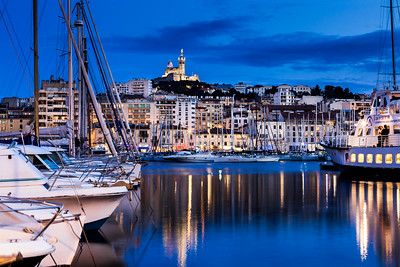 Old Port of Marseille, France