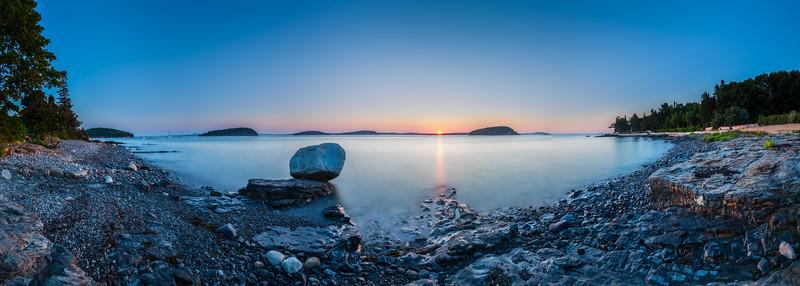 Sunrise at Bar Harbor, Maine