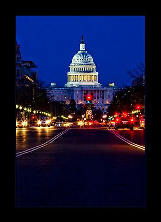 U.S. Capitol from Pennsylvania Avenue, Washington, DC