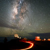 Milky Way meets Shooting Star