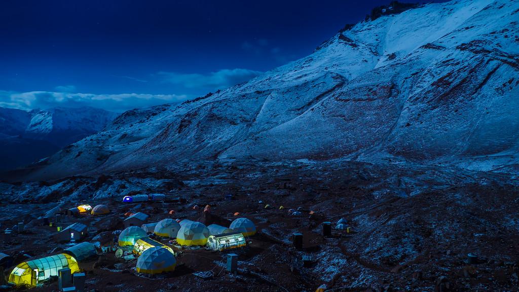 Aconcagua, Base Camp Plaza Argentina