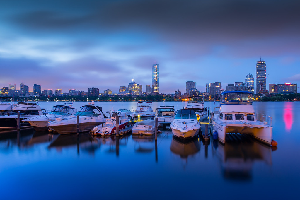 Morning Twilight over Boston