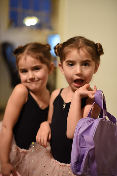 Getting Ready for Dance Class