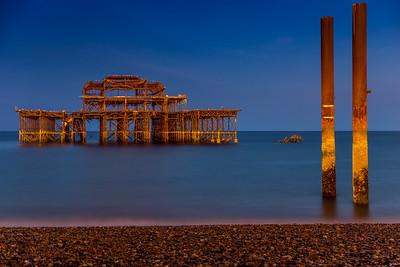 Brighton Pier @ Night