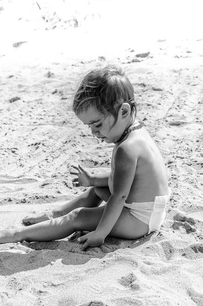 Baby at the Beach
