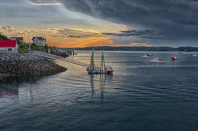Lubec Harbor - Johnson's Bay