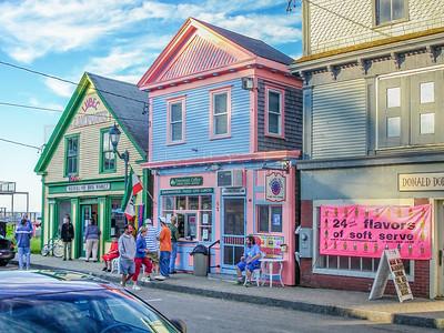 Street Scene, Lubec, Maine 2012
