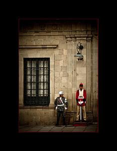 Guarding the Capital, La Paz