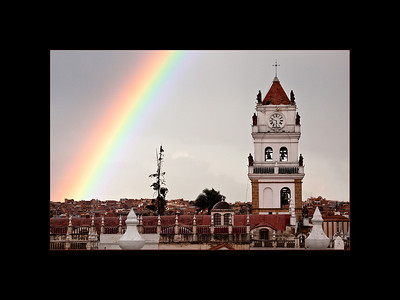 Rainbow over Sucre