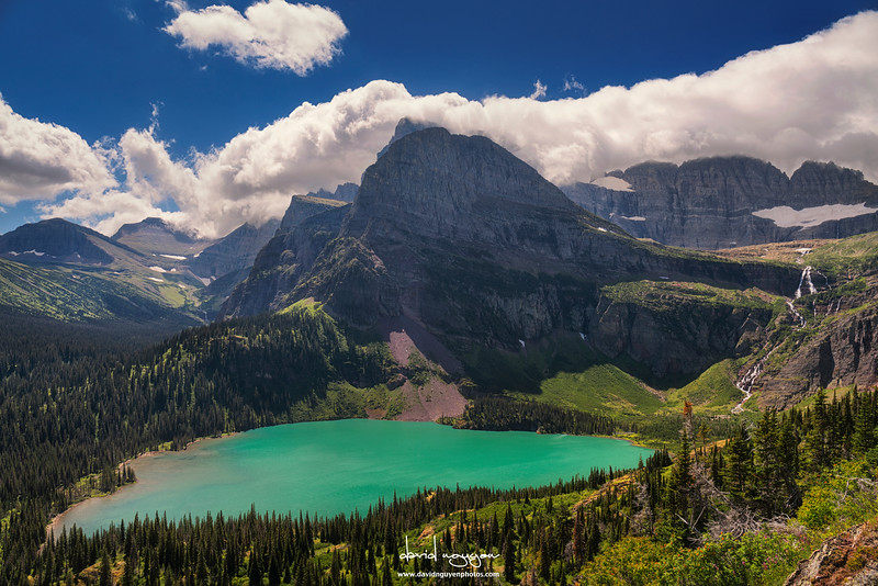 Grinell Lake, Glaciers NP, MT