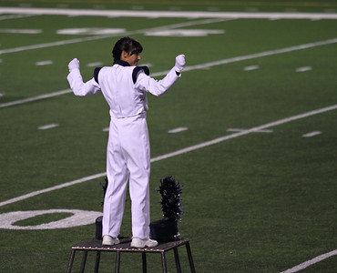 UIL Marching Contest at the SAC, 10/13/12, where they received a Superior (1) rating.  Danielle Chesak (Dano) - The final beat.