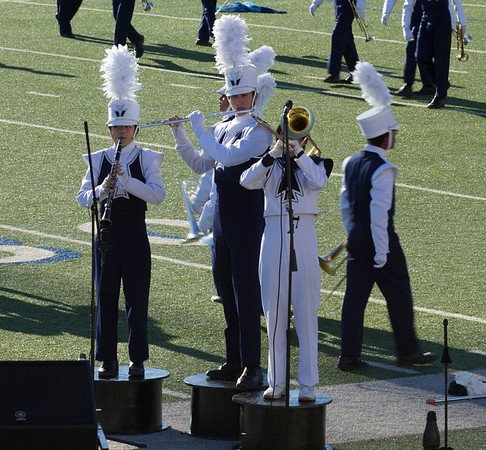 Danielle Chesak performing a trio, with Bonnie Wang and Adrian Ito,  at the 2013 EPISD Invitational Marching Contest.