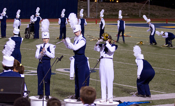 Drum Major Danielle (Dano) Chesak performing her Trio (with Bonnie Wang - Clarinet, Adrian Ito - Flute) at a halftime show at Coronado High School - 2013