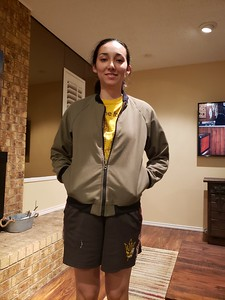 Dano and only her second jacket project
