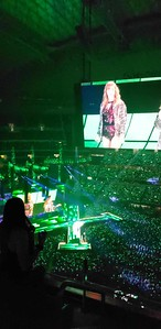Dano and Jord at the Taylor Swift concert at AT&T Stadium