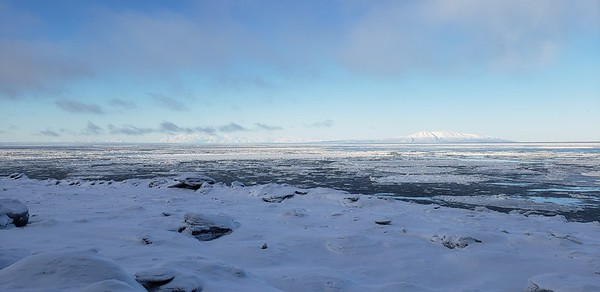 Mount Susitna Across the Inlet