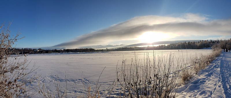 Panorama Across Westchester Lagoon