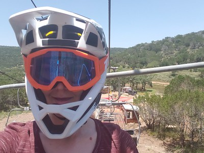 Jordan at Spider Mountain Texas - 7/6/19