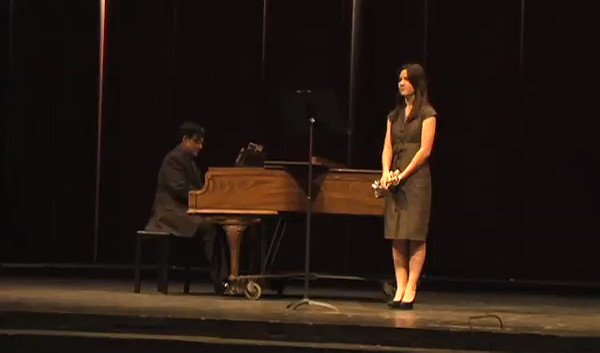 Jordan Chesak, accompanied by Zeke Mesa,  and her Senior Recital, at Coronado High School.<br /> Jordan is a 3-year All-State trumpeter and  was the First Chair trumpeter at the 2012 TMEA All-State Convention - #1 High School Trumpeter in the State of Texas<br /> <br /> B-flat trumpet - Slavische Fanasie, Hohne