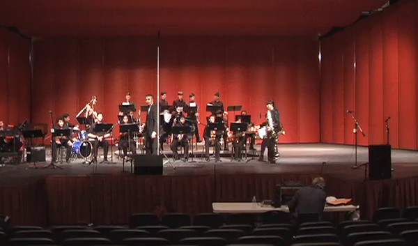Danielle Chesak's solo with the 2014 Coronado HS Jazz Band. Danielle (Dano) is a 2 year Texas All-State trombone player.