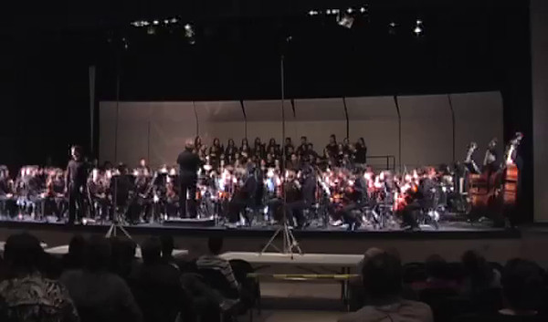 2014 UIL Orchestra contest and the Coronado HS Orchestra