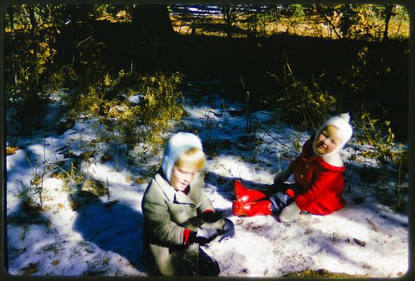 Ross & Sandi in Cloudcroft, NM