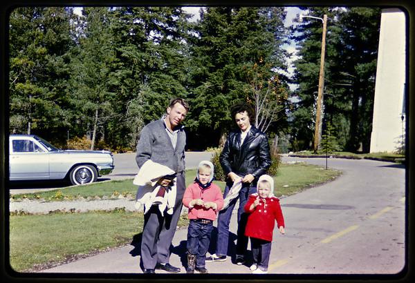 Bob, Selma, Ross & Sandi at the Lodge in Cloudcroft