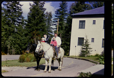Sandi, Selma, Bob & Ross in Cloudcroft, NM