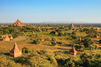 Plain of Temples around Dhammayangyi Pahto, Bagan #2