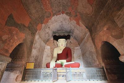 Seated Buddha, Sulamani Pahto (Pagoda), Bagan (Pagan)