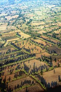 Bagan (Pagan) Countryside from the Air