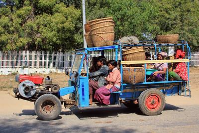 Rural Transport Vehicle, New Bagan (Pagan)