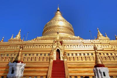 Shwezigon Paya (Pagoda) #1, Bagan (Pagan)