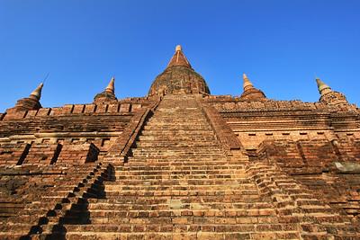 Stairs to the Chedi, Bagan (Pagan)